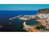 2 return flight tickets Liverpool- Gran Canaria Island, 8.Apr-15.Apr