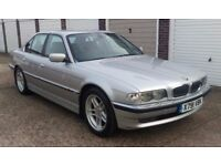 T-Z CARS PRESENT A 2000 X REG BMW 735I SE CLASSIC SERVICE HISTORY PX WELCOME