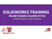 ONLINE ESSENTIAL SOLIDWORKS TRAINING, ENGINEERING CAD TRAINING, BASIC TUTORING