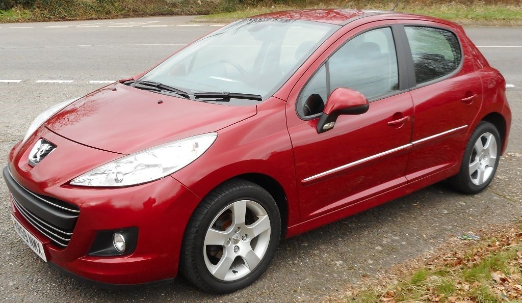 peugeot 207 sport hdi red 2009 in exeter devon gumtree. Black Bedroom Furniture Sets. Home Design Ideas