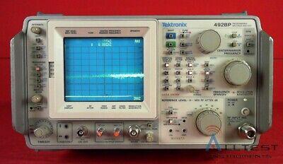 Tektronix 492bp Programmable Spectrum Analyzer 10khz To 21ghz