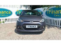 CAN'T GET CREDIT? CALL US! Hyundai i10 1.0 SE, 2014, Manual, 5 Door - £200 DEPOSIT, £40 PER WEEK