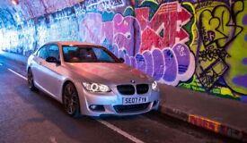 BMW 325i M-Sport e92 Silver - Very Low Mileage