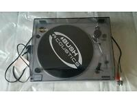 Bush acoustics belt drive full manual turntable MTT2