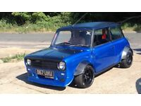 Classic 1962 Mini 2.0 Vauxhall engined modified - track or fast road