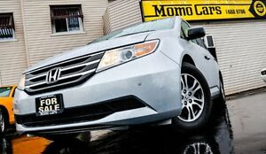 2012 Honda Odyssey EX-L! Leather+Cruise+A/C! ONLY $199/bi-weekly