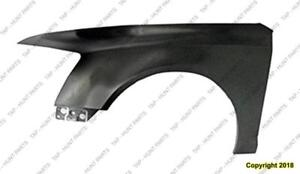 Fender Front Driver Side (Without Side Lamp Hole) Aluminum CAPA Audi A6 2009-2011