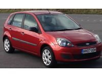 Ford Fiesta Style Climate 5door 1200..only 41000 miles