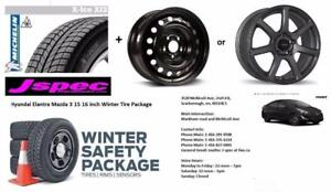 15 inch hyundai Elantra VEloster winter rims n tire package 195/65R15 or 16 inch package available