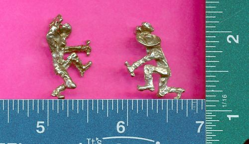 lead free pewter miner figurine m11060