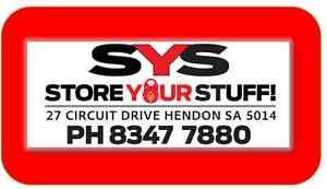 SYS - Store YOUR Stuff Pty Ltd Hendon Charles Sturt Area Preview