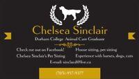 Chelsea Sinclair's Pet Sitting