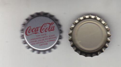 COCA-COLA  BOTTLE CAPS..100 PIECES  PLASTIC LINED UNUSED  NEVER CRIMPED