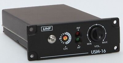 Uhf Pll Wireless Microphone (JTS CARVIN Audio UHF PLL Diversity USM-16 CH Wireless Microphone Receiver)