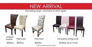 [SALE] Leather Dining Chair ONLY $149ea (six or more) Bayside Area Preview