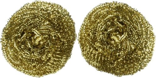 2 Weller Lead-Free Solder Tip Cleaner Metal Wool Brass Wire Soft Coiled Sponges