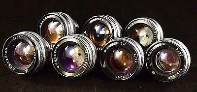 Объективы Soviet lens JUPITER-8м (2/50),(Contax) -