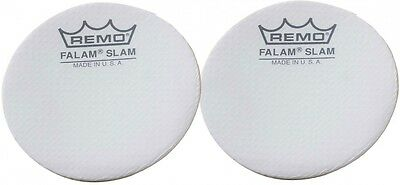 """Remo 2.5"""" Falam Slam Patch For Bass Drum Head, 2 Pieces"""