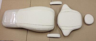 Pelton Crane 1801 Fawn Beige Plush Dental Chair Replacement Upholstery