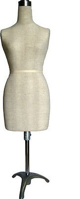 Mn-182 Mini Half Scale Professional Pinnable Dress Form Great For Students