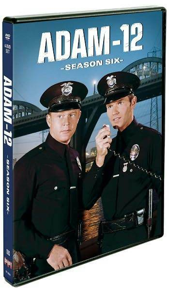 ADAM-12: SEASON SIX 6 (Andrew Stevens) - DVD - Region 1 Sealed