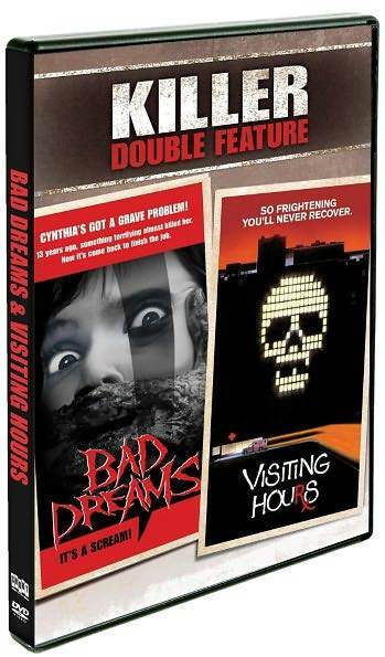 BAD DREAMS & VISITING HOURS (Michael Ironside) - DVD - Region 1 Sealed