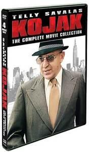KOJAK: THE COMPLETE MOVIE COLLECTION (Telly Savalas) - DVD - Region 1 Sealed