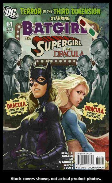 Batgirl (3rd series) 14 DC 2010 VF/NM Stanley Artgerm Lau Cover