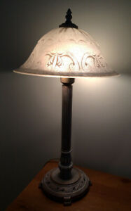 Lampe style antique