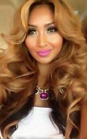 OMBRE & BALAYAGE FULL LACE & LACE FRONT WIGS IN STOCK
