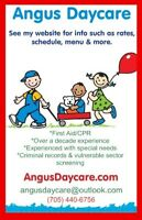 Daycare Alliston, Barrie, Innisfil