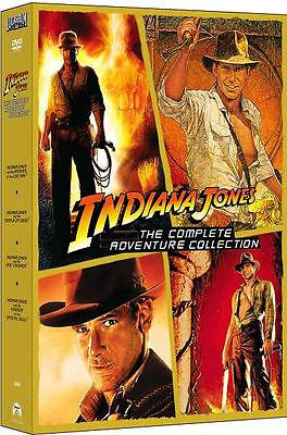 Indiana Jones - The Complete Adventure Collection (DVD, 2008, 5-Disc Set)!