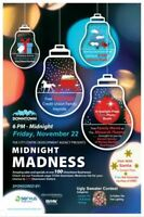 2019 Midnight Madness Downtown November 22nd