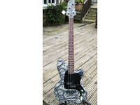 Quality Customised Short Scale Bass