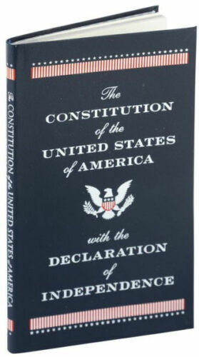 The Constitution Of The Usa & Declaration Of Independence (pocket Size) ~ New ~