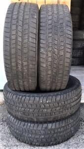 4 pneus d'hiver Michelin LTX Winter LT275/65/18 à vendre
