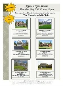 Multiple Open Houses - Country Club Village (Canadian Golf Club)