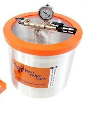 Best Value Vacs 3 Gallon Aluminum Vacuum And Degassing Chamber Bvv3gb