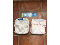 Smartipants cloth nappy x2