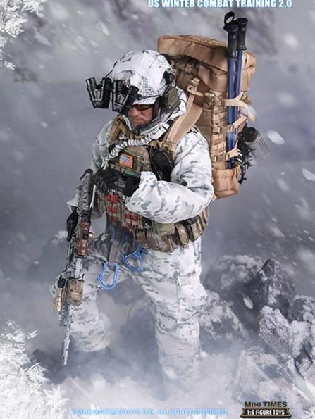 Minitimestoys M018 1//6 Scale Navy Seal Winter Combat Training 2.0 Headmask Model