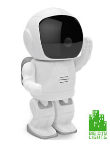 Nanny/Surveillance Cam Interactive Spaceman with rotating head