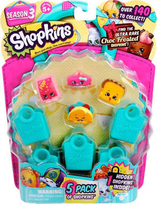 Shopkins Season 3 (5-Pack) - Characters May Vary .](Female Disney Characters)