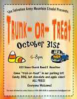 """Mountain Citadel's """"Trunk-Or-Treat"""""""