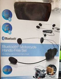 Bluetooth Motorcycle Hands-Free Set
