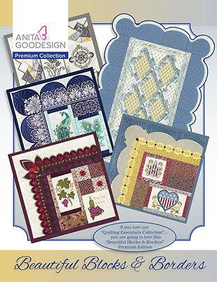 Anita Goodesign Premium Edition Beautiful Blocks & Borders Quilting (CD ONLY)