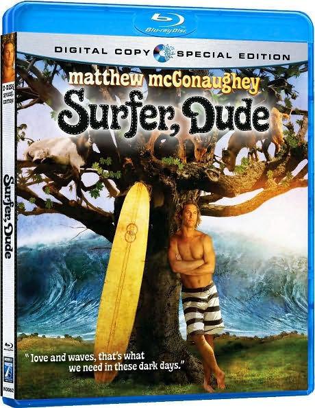 SURFER DUDE - BLU RAY - Region A - Sealed