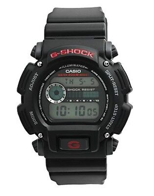 Casio Dw9052-1v G-Shock Water Resistant Resin Band Digital Watch Men'S