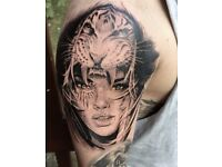 £250 Full Day Tattoo Session Dudley Tattooist