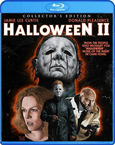 Halloween II: Collector's Edition (Jamie Lee Curtis) Region A - BLURAY - Sealed