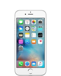 THE CELL SHOP has an Unlocked Iphone 6 White Silver